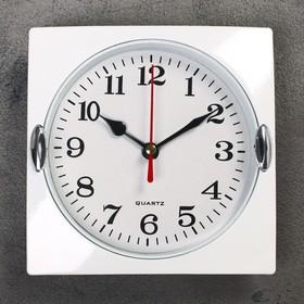 """Часы настенные, серия: Классика, """"Лаура"""", дискретный ход, 15 х 15 см, d=13 см в Донецке"""