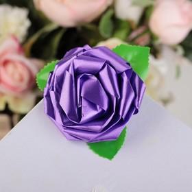 Bow-rose No. 6 purple