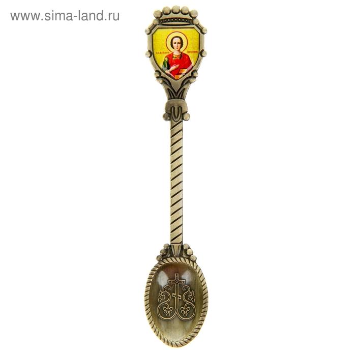 """Декоративная ложка """"Святой Пантелеимон"""""""