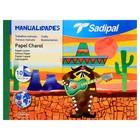 Бумага цветная глянцевая набор B4 240*320 мм Sadipal 10 цветов 0597