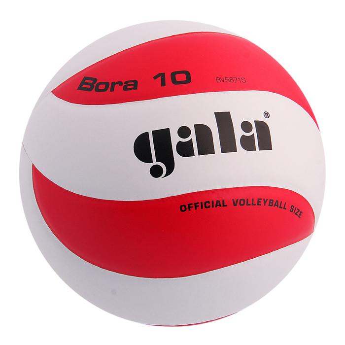 Мяч волейбольный Gala Bora 10, BV5671S, размер 5, PU, клееный