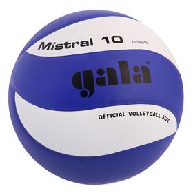 Мяч волейбольный Gala Mistral 10, BV5661S, размер 5, PU, бутиловая камера, клееный