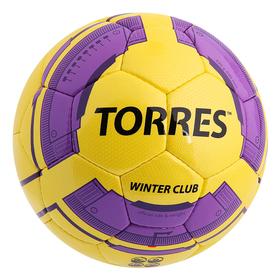 Мяч футбольный Torres Winter Club YEL, F30045YEL, размер 5 Ош