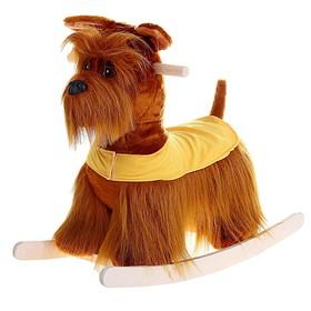 Качалка «Собака ризеншнауцер»