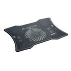 Охлаждающая подставка для ноутбука, 1 кулер, черная