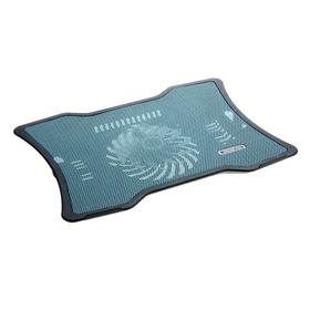 Охлаждающая подставка для ноутбука, 1 кулер, синяя