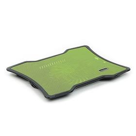 Cooling pad, laptop cooler 1, green