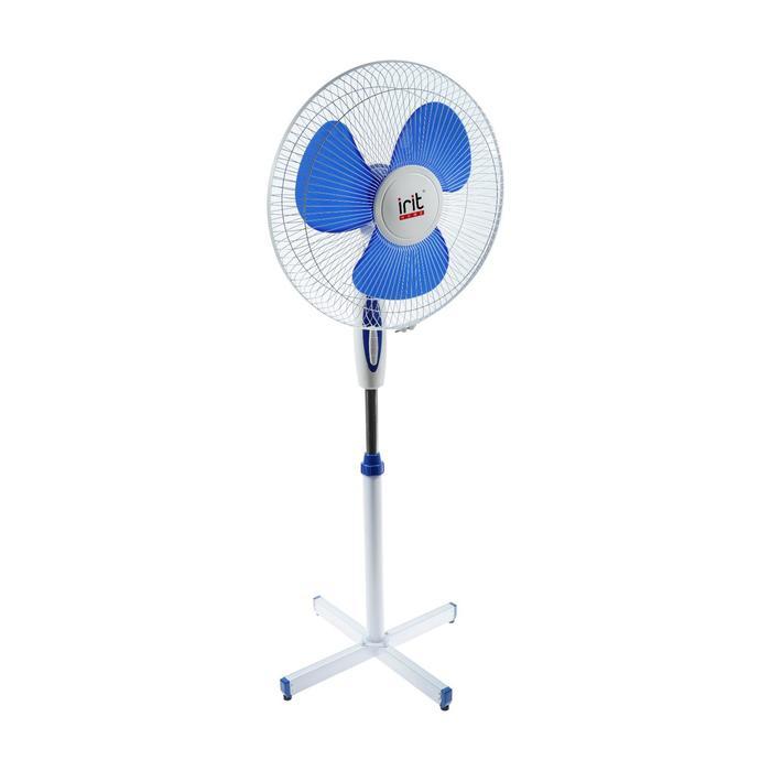 Вентилятор Irit IRV-002, напольный, 40 Вт, 3 режима, белый