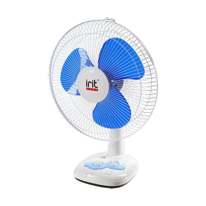 Вентилятор Irit IRV-026, настольный, 40 вт, 3 скорости, таймер, белый