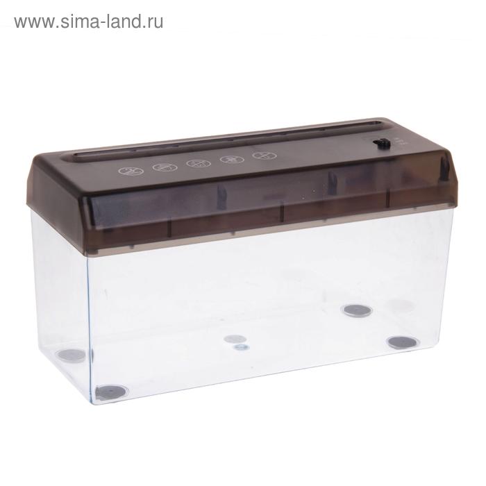 Мини-шредер автоматический, 2 режима, А4