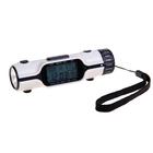 Часы-будильник с LED-фонариком и термометром, батарейки не в комплекте
