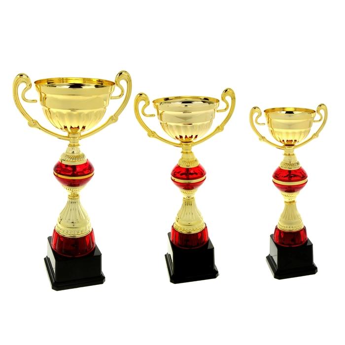 Кубок спортивный чаша, цвет золото