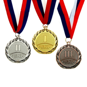 001 prize medal diam 5 cm, silver