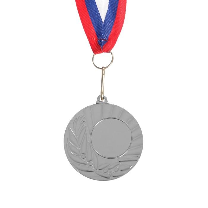 Медаль под нанесение 015, серебро