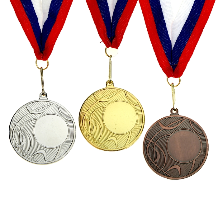 Медаль под нанесение 014, серебро
