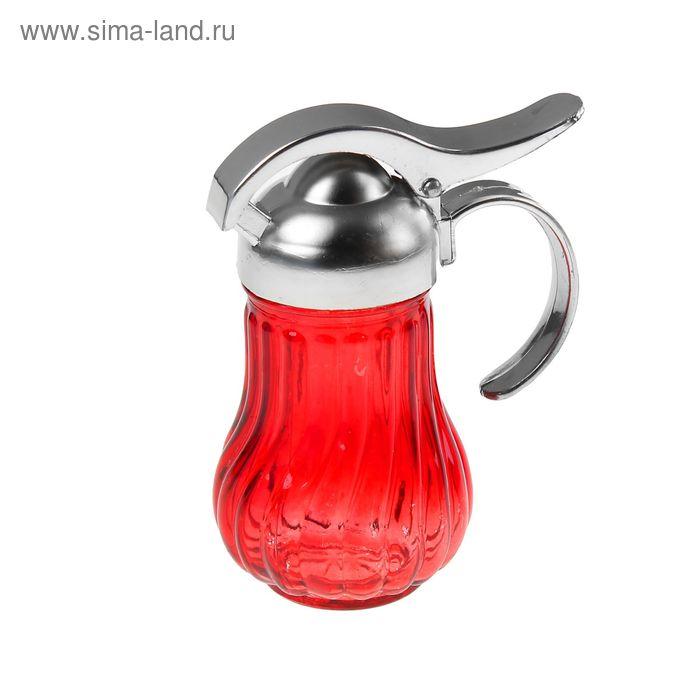 "Сахарница 200 мл ""Галерея"", с дозатором 7х14 см, цвет МИКС"