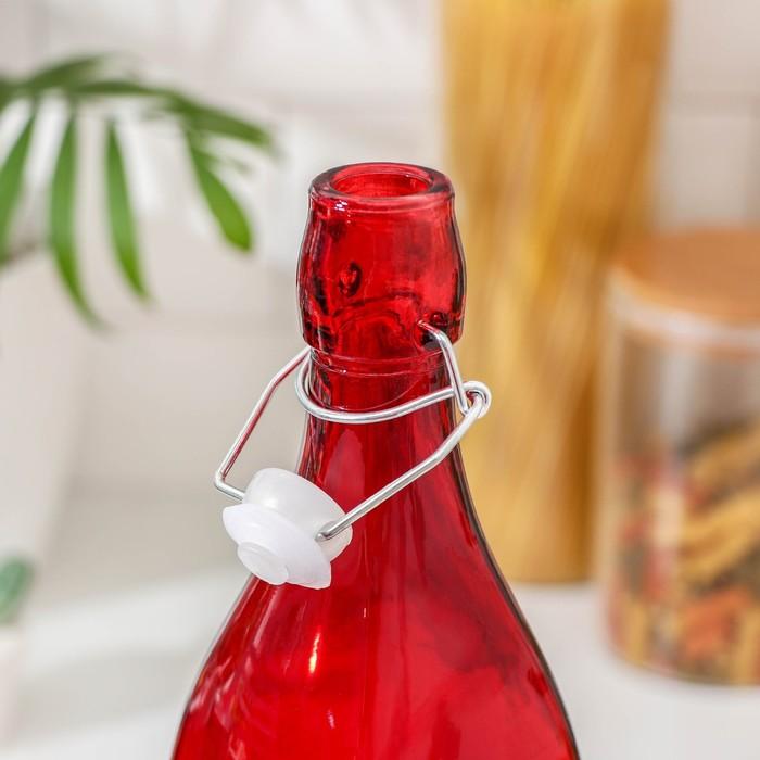 Бутылка «Галерея» 1,2 л, 8×30,5 см, цвет МИКС - фото 293984831