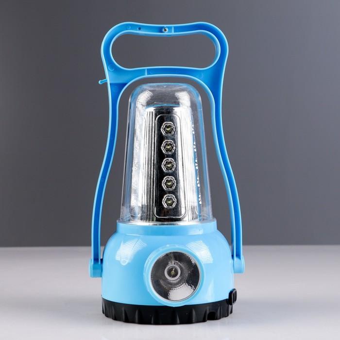Фонарь кемпинговый, аккумуляторный, MH-6988, 2 типа освещения, 29 LED, микс