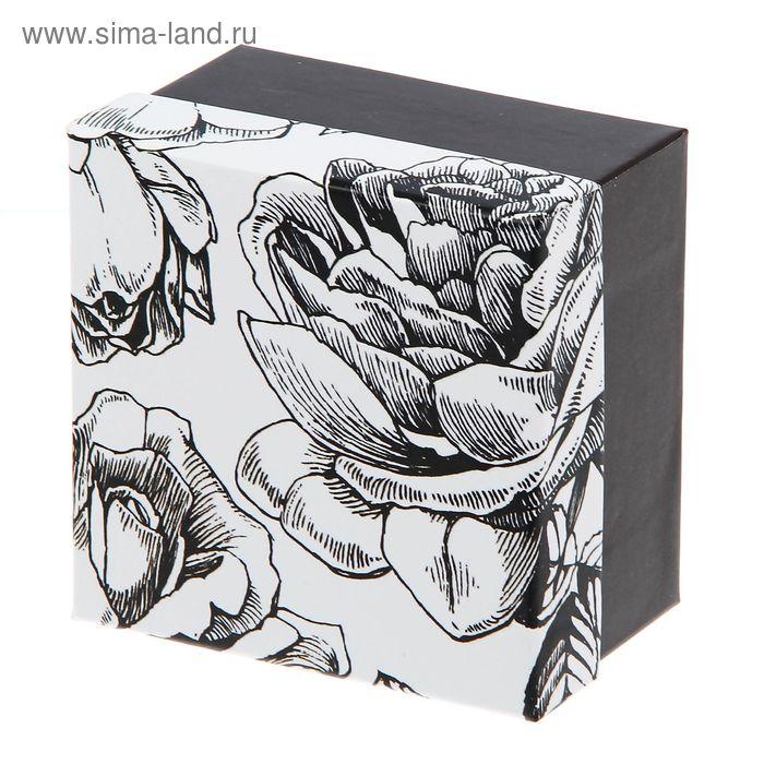 """Коробка подарочная """"Черные розы"""""""
