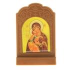 Икона на подставке «Икона Божией Матери Владимирская»