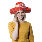 "Шляпа картон ""Прекрасная незнакомка"""