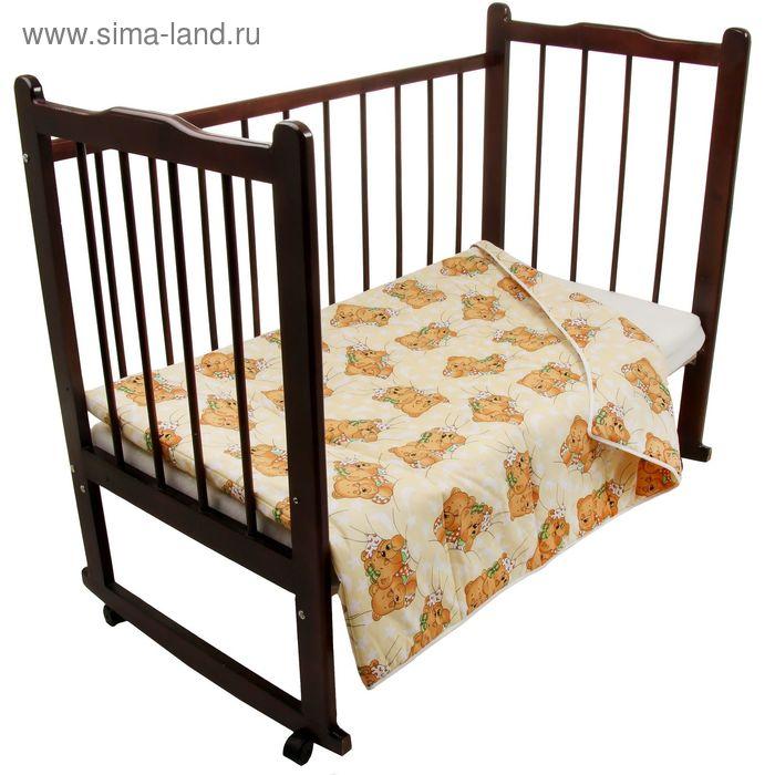 Одеяло детское, размер 140х105 см