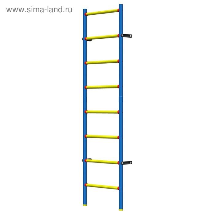 Шведская стенка детская пластиково-металлическая 200 х 50 см гп031011