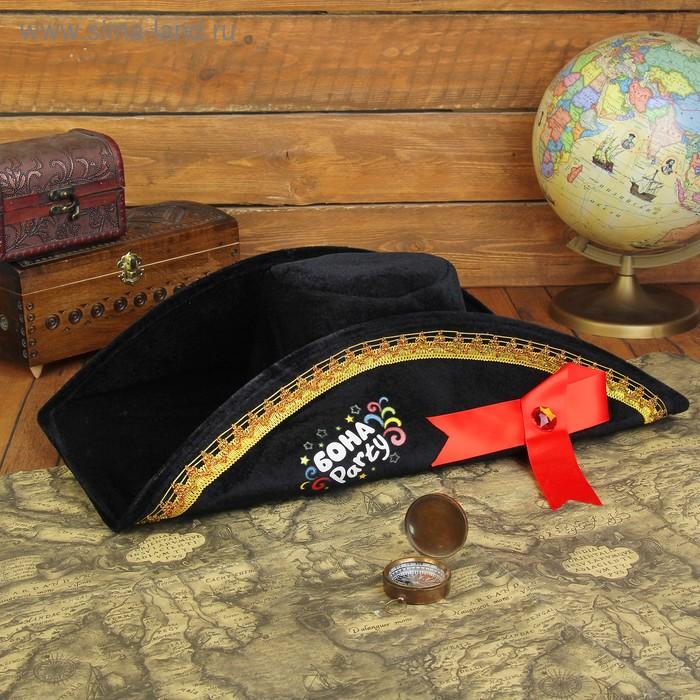 "Шляпа двууголка ""Бона Party"", р-р. 58"