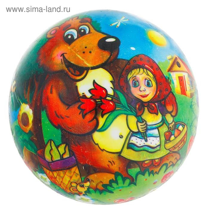 """Мяч детский """"Машенька с Мишкой"""""""