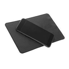 The Mat is anti-slip, 20X13 cm, black