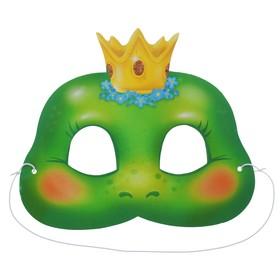 Маска карнавальная «Царевна-лягушка»