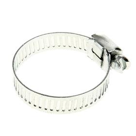 The clamp galvanized TUNDRA krep, through punching, width 9 mm, diameter 20-32 mm