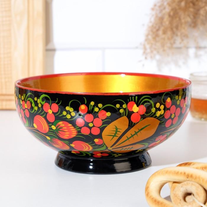 Чашка «Ягодка», большая, 16×7см, хохлома