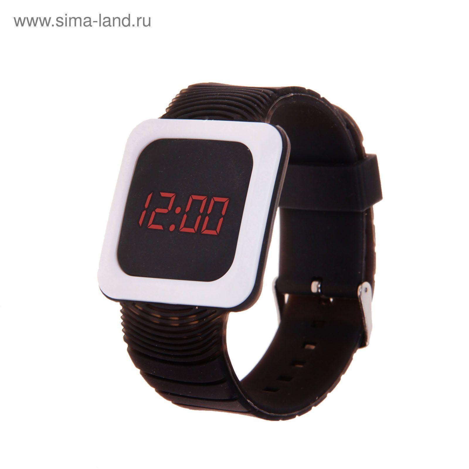 ba7737c8 Часы наручные женские электронные, квадратный циферблат, цвет черный ...