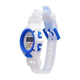 Часы наручные детские 'Птенчик', электронные, с силиконовым ремешком, микс Ош
