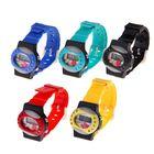 Часы наручные электронные, детские, с силиконовым ремешком, декор стразы, микс