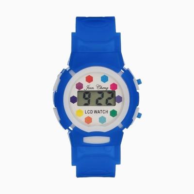 Часы наручные электронные «Активити», детские, с силиконовым ремешком, микс
