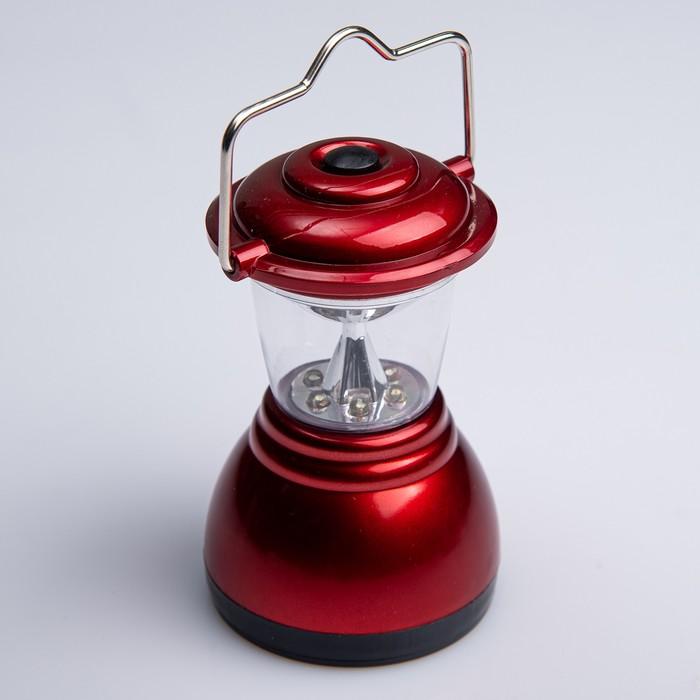 Переносной фонарь «Сумерки», 6 диодов, микс
