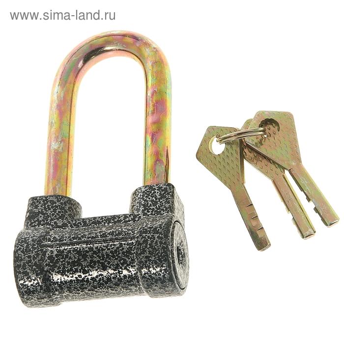 Замок навесной, тип 7, 52х95 мм, 3 ключа
