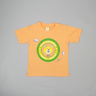 Детская футболка Bear, на 1,6-2 года (рост 92-98 см), цвета МИКС