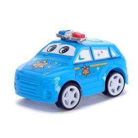 Машина инерционная «Полиция», цвета МИКС