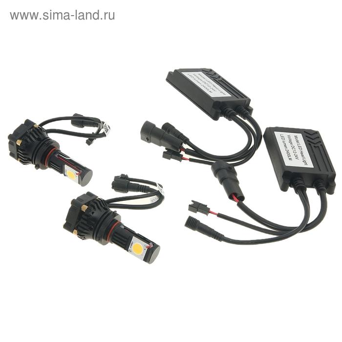 Светодиодные лампы HB3(9005), ближний/дальний, 50 W, 2400 Lm, 5000 K, LED CREE, 12-24V