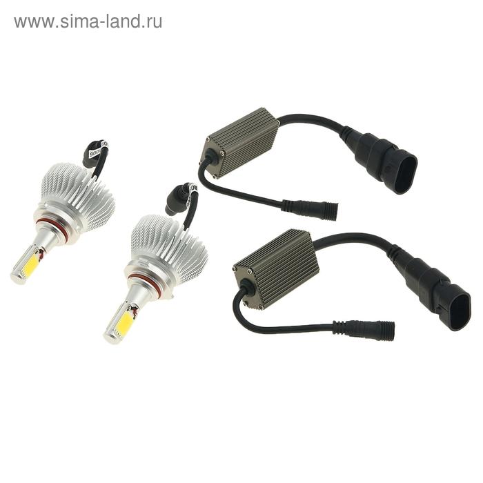 Светодиодные лампы HB4(9006), ближний, 50 W, 2400 Lm, 5000 K, LED CREE, 12-24V