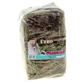 Сено луговое прессованное с шоколадом, 400 г Ош