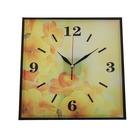 """Настенные часы-картина в раме """"Серия Эпатаж. Солнечное утро"""", 30 × 30 см"""