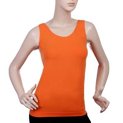 Майка женская бесшовная ARTG CANOTTA SCOLLO TONDO (orange,L/XL)