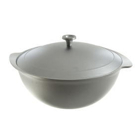Cauldron for pilaf 7 l, with a lid.