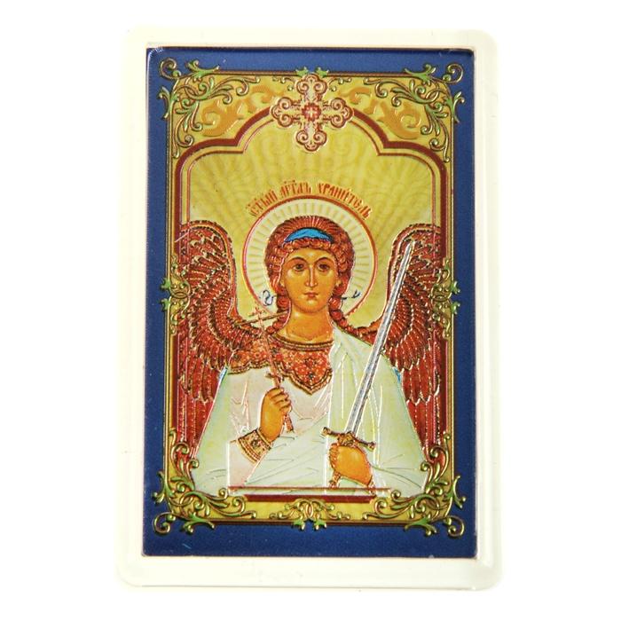 """Икона в авто """"Святой Ангел Хранитель"""", с клеящейся основой"""
