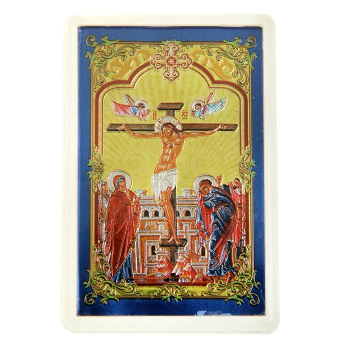 """Икона в авто """"Распятие Христово"""", с клеящейся основой"""