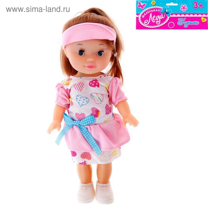 """Кукла """"Вероника"""" в платье и кепке"""